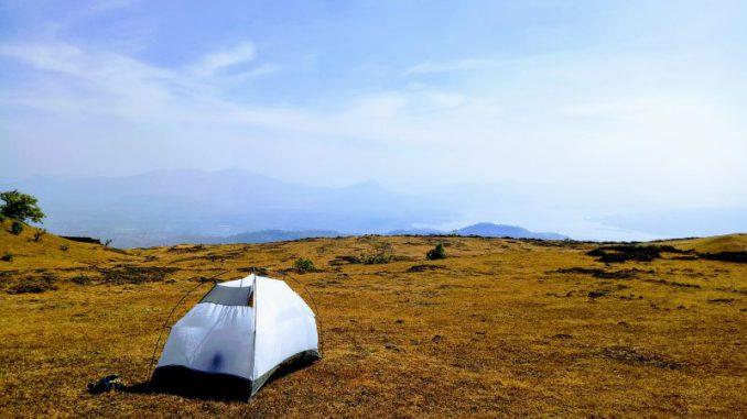 gdzie nie można postawić namiotu