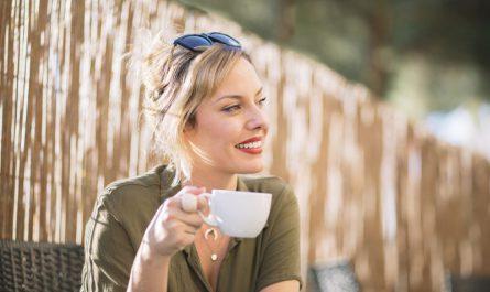 relaks z kawą