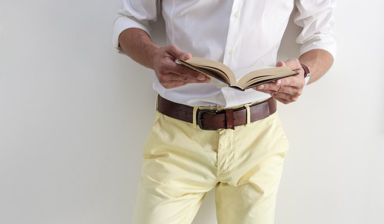 modny pasek do spodni