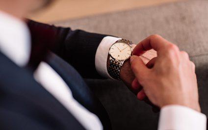 stylowy meski zegarek