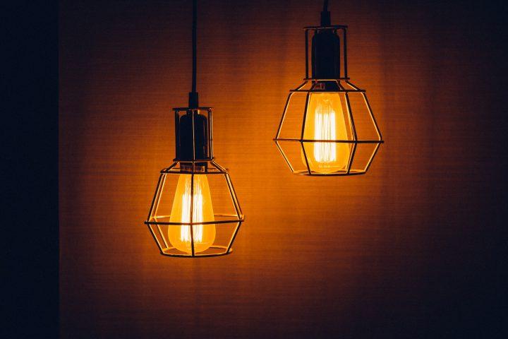 Minimalizm dzięki halogenowym lampom