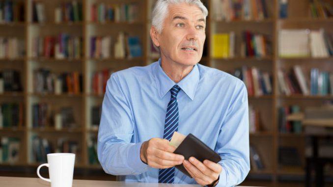 modny mężczyzna portfel