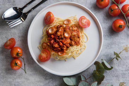 zdrowe spaghetti