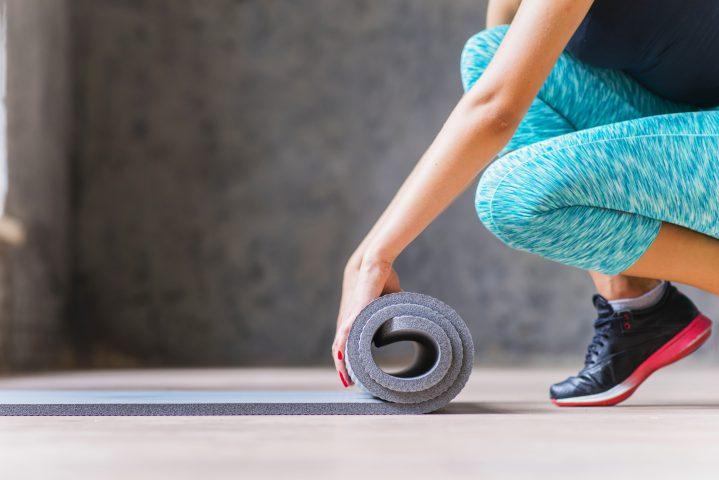 Fitness – po co nam gruba mata do ćwiczeń?