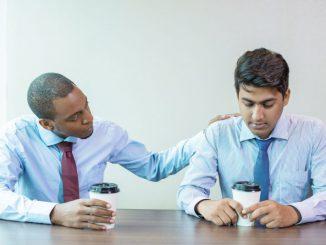 smutni mężczyźni biznesmeni