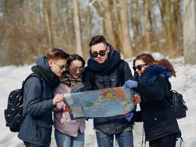 wycieczka zimą