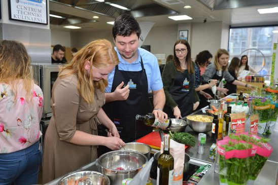 zdjęcie z warsztatów kulinarnych