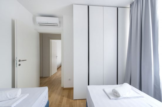 korytarz w pokoju