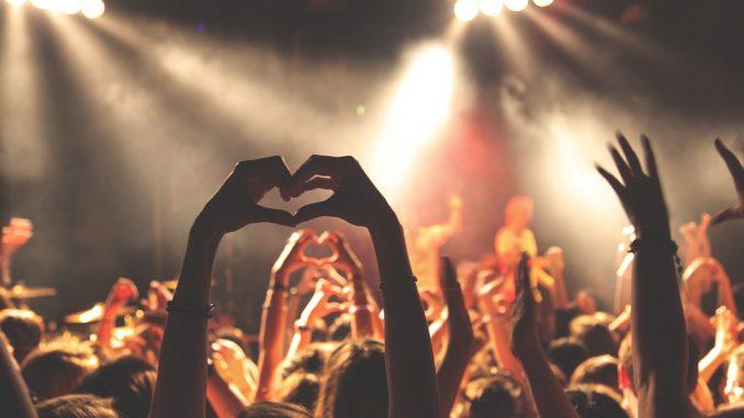 zdjęcie tłumu widzów na koncercie
