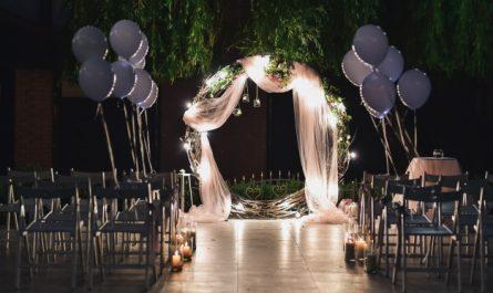 wesele światło
