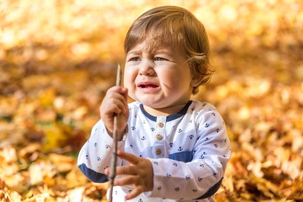 Co zrobić gdy dziecko płacze?