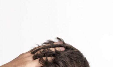 skóra głowy