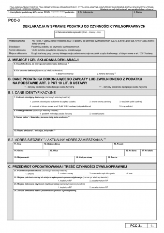 dokument PCC-3