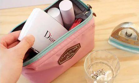 kosmetyki dior w kosmetyczce