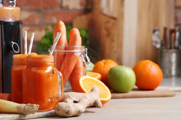 swieze soki z warzyw