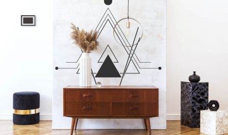 Naklejka abstrakcja i geometria