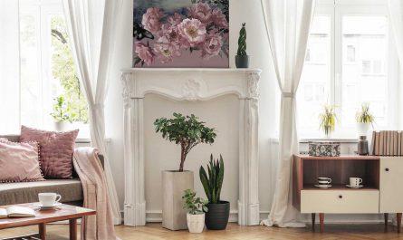 Obraz kwiaty różowe