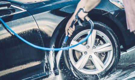mycie samochodu na posesji