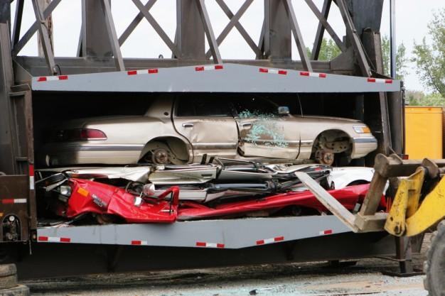 zlomowane samochody