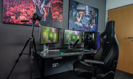 Wypróbuj gamingowy monitor i dobierz inne elementy do pokoju gracza