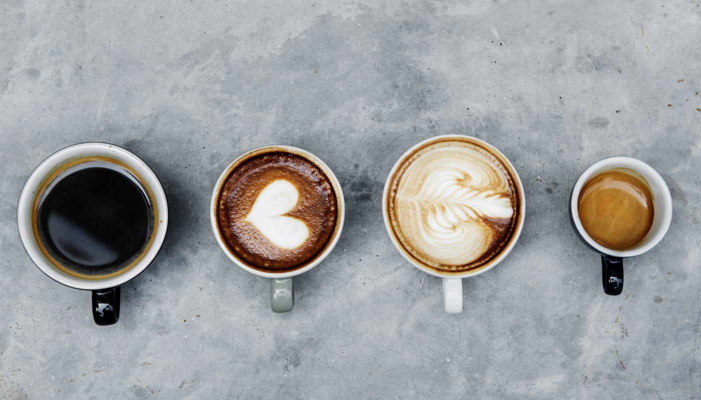 rozne smaki kawy