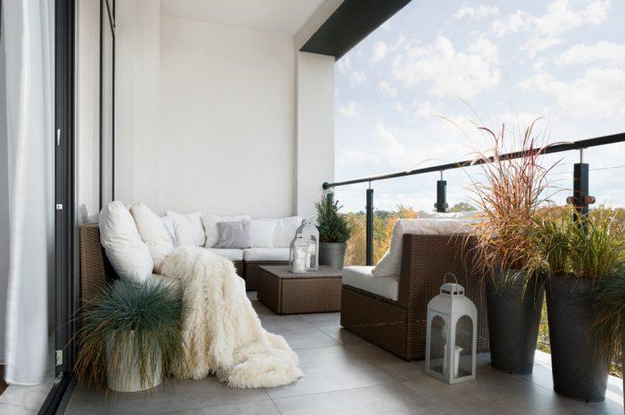 Taras, balkon czy ogródek? Co wybrać, kupując mieszkanie w bloku?