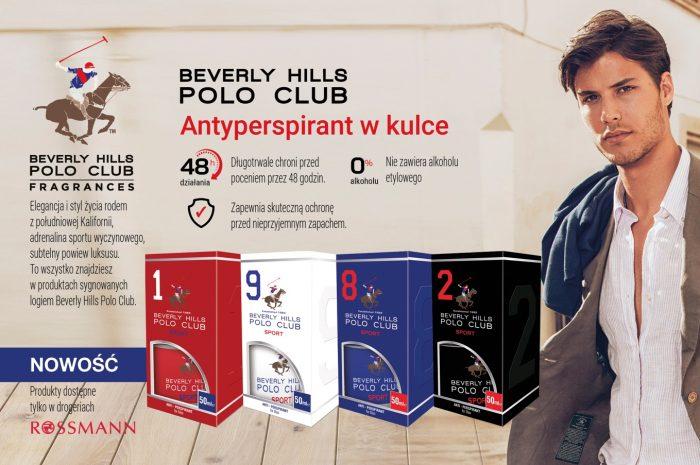 Ochrona przed potem dla mężczyzn z Beverly Hills Polo Club